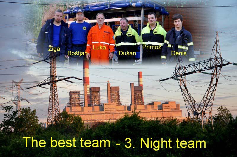 Nočna ekipa iz Celja