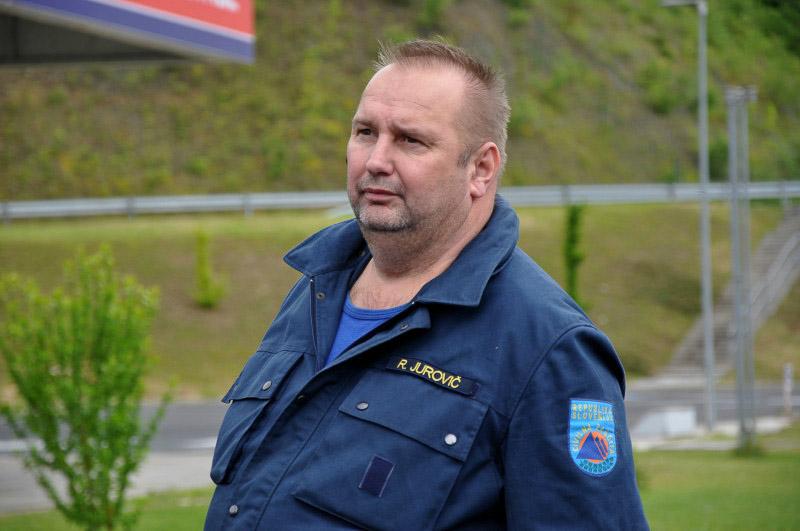 Robert Jurkovič pred prestopom meje