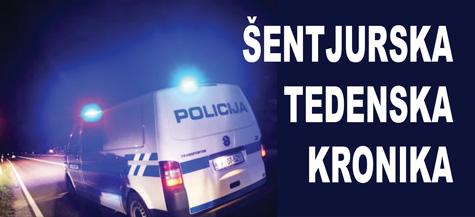 Policijska kronika od 4. 8. do 10. 8. 2015