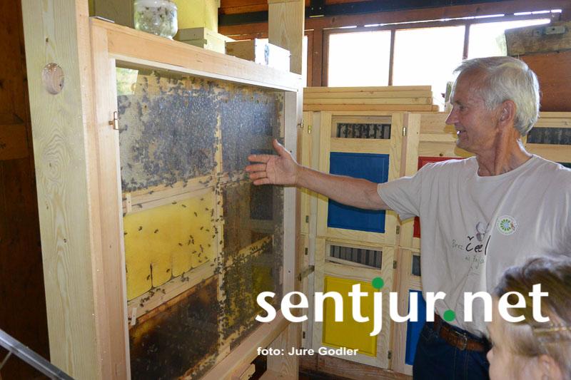 Dan odprtih vrat šentjurskega čebelnjaka