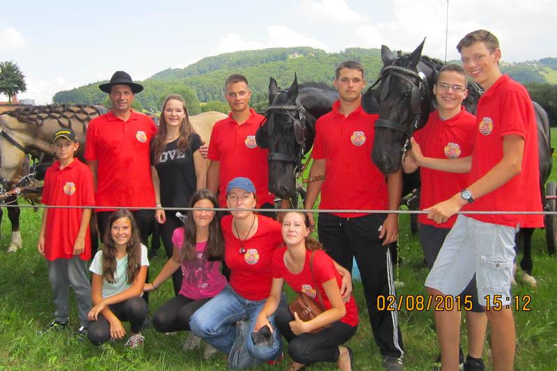 Žegnanje konj v Gorici pri Slivnici