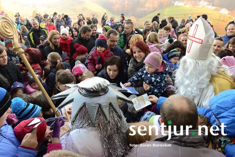 Zalino božično presenečenje rušilo rekorde obiskanosti