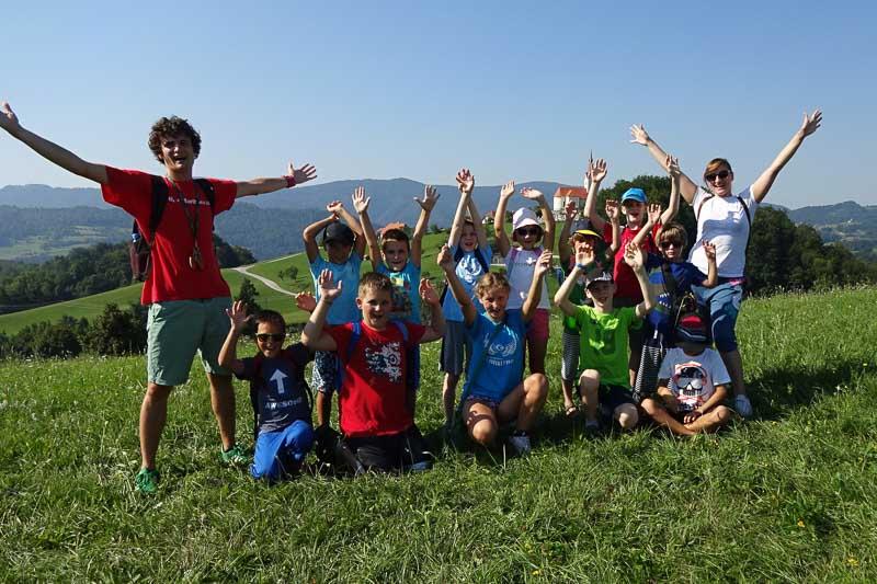 Mednarodni poletni jezikovni tabori za otroke