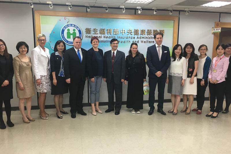Izjava za javnost: Obisk delegacije SDS na Tajvanu