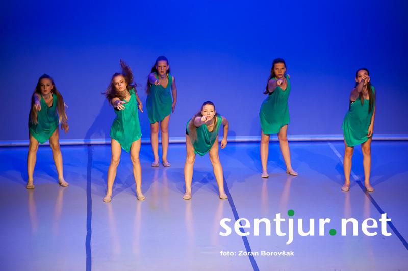 Umetnost plesa na šentjurskem odru