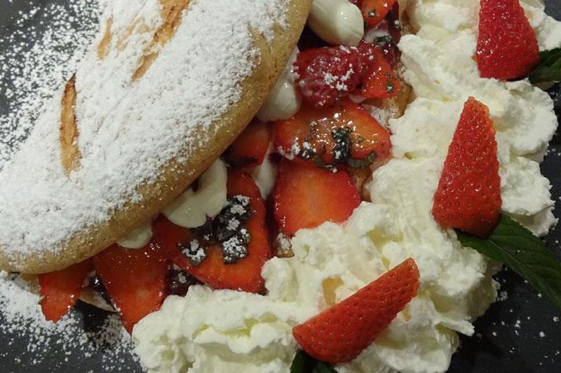 Sladica po receptu Klavdije: Planinska pohorska omleta
